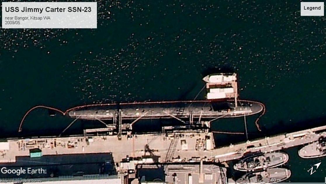 USS Jimmy Carter SSN-23 Kitsap WA 2009