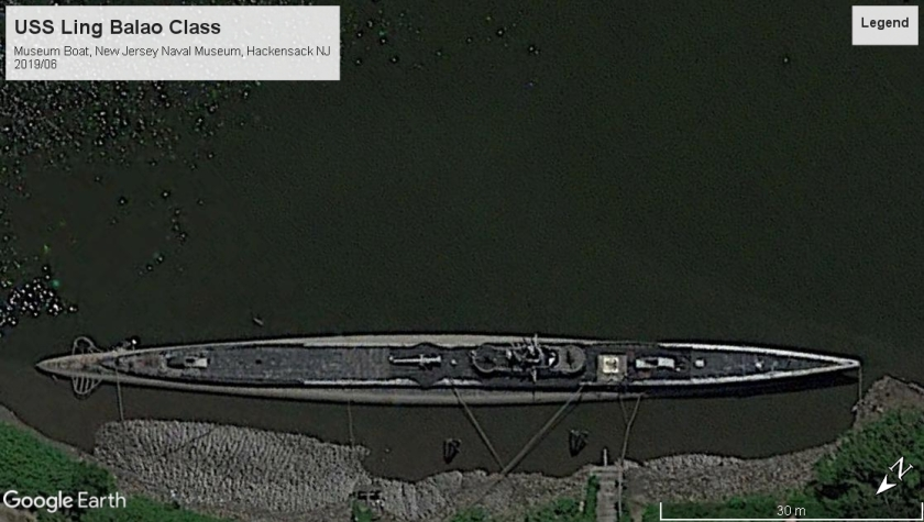 USS Ling museum boat Hackensack NJ 2019