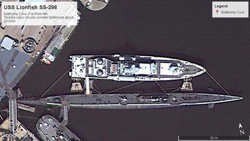 USS Lionfish SS-298 Fall River MA 2010