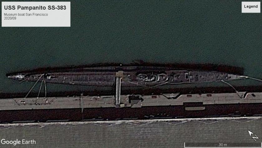 USS Pampanito museum boat San Francisco 2020