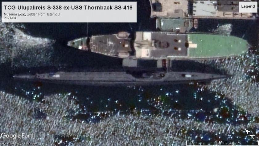 USS Thornback SS-418 Istambul 2021