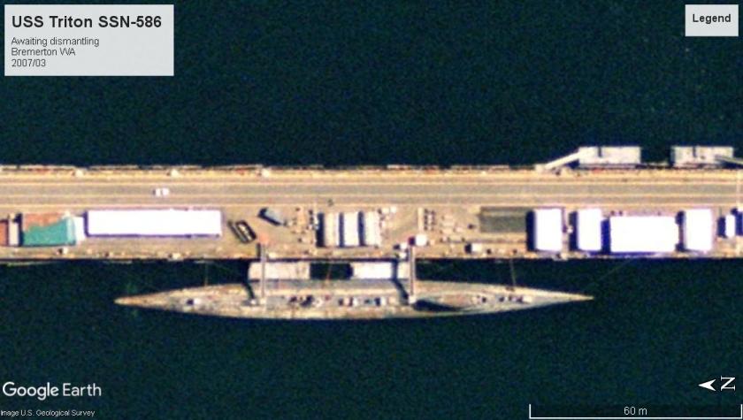 USS Triton SSRN 2007 puget sound