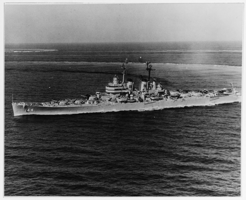 USS Worcester CL-144 NH 91832
