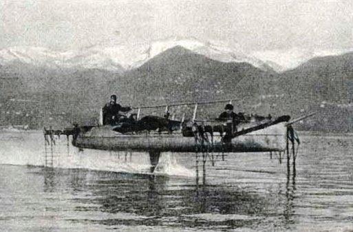 Forlanini_Idroplano-Forlani_Hydrofoil_1910