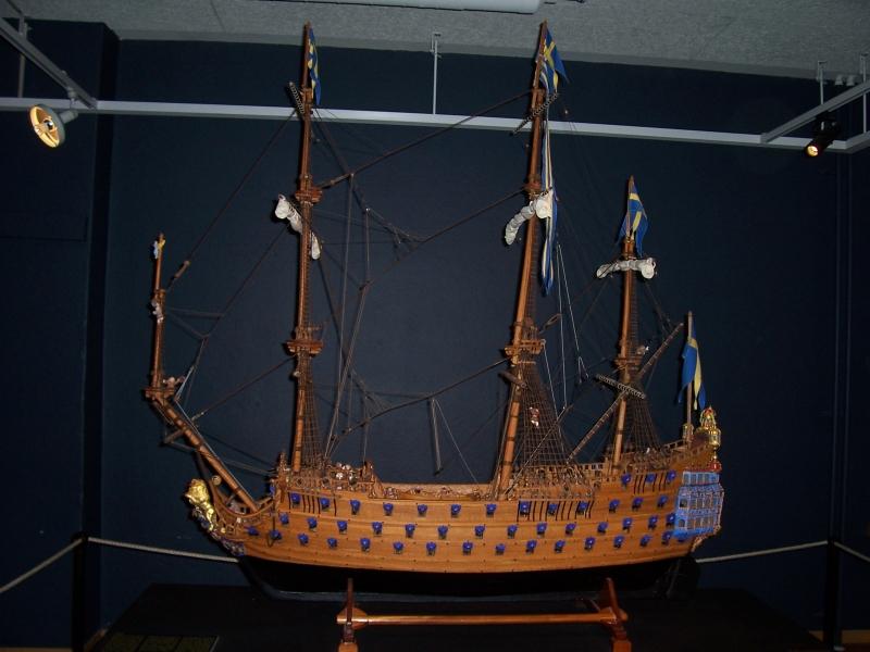 Kronan_schiffsmodell
