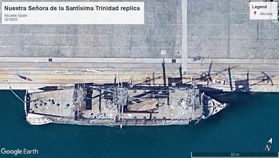 Nuestra Señora de la Santísima Trinidad replica Alicante 2018