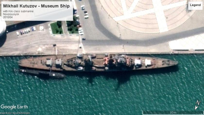 Mikhail Kutuzov Sverdlov class museum ship Novorossiysk 2010