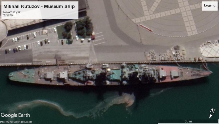 Mikhail Kutuzov Sverdlov class museum ship Novorossiysk 2020