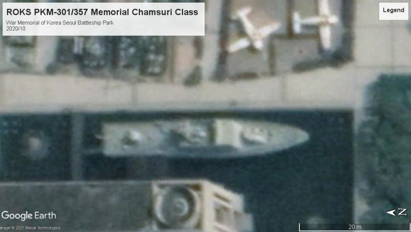 ROKS Chamsuri class patrol museum War Memorial Seoul 2020