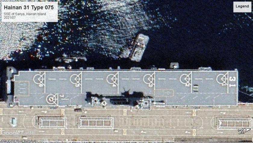 Hainan 31 Type 075 Hainan Island 2021-07