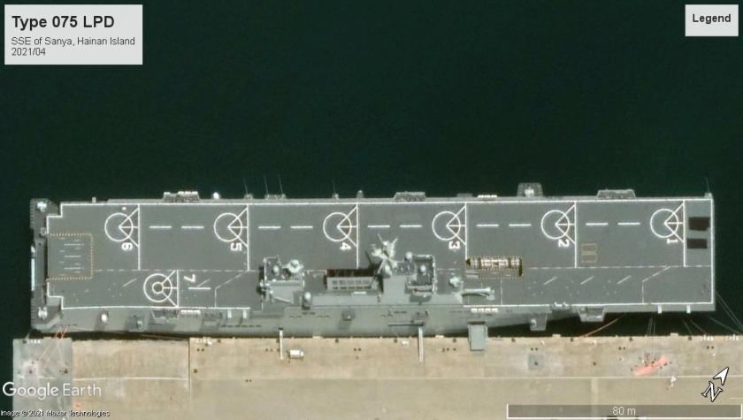 Type 075 LPD Hainan 2021