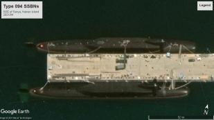Type 094 SSBN Hainan Island 2021-04