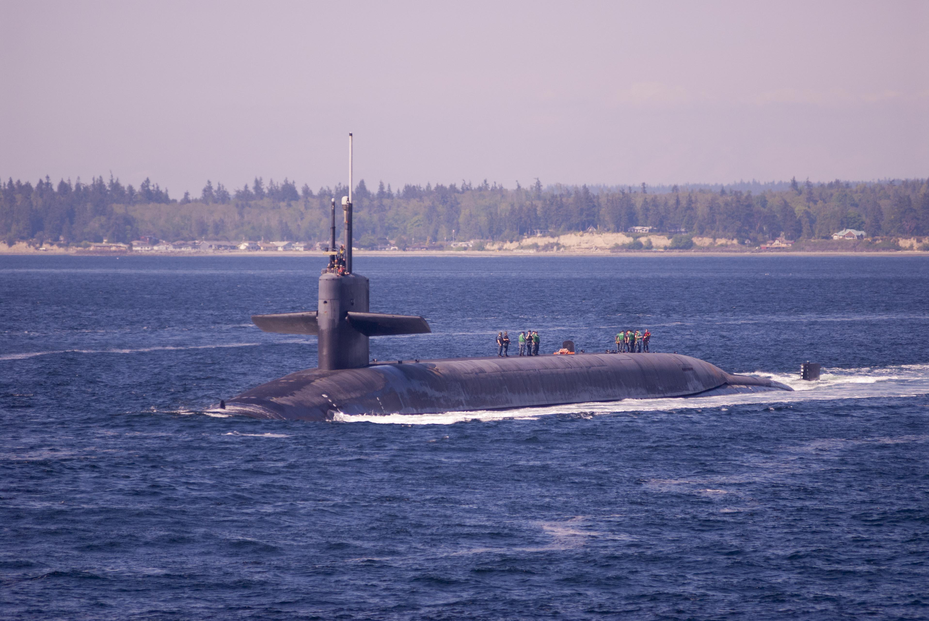 USS Louisiana (SSBN 743) Blue Returns to Naval Base Kitsap-Bangor